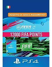 FIFA 19 Ultimate Team - 12000 FIFA Points | Codice download per PS4 - Account italiano