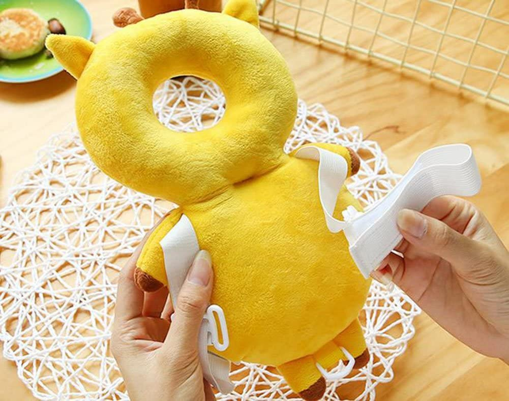Cute Angel Wings LAAT Baby Toddlers Headrest Pillow Baby Head Protection Cushion for Infant Walking Shoulder Protector Prevent Head Injured