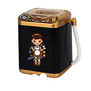 Makeup Sponge Washing Machine, Deep Clean Mini Washing Machine Toy, Electronic Washing Machine for Makeup Sponge, Powder Puffs (Ugin)