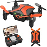 ATTOP Drone for Kids Drones with Camera for Kids and Beginners, AR Game Mode RC Mini Drone w App Gravity Voice Control…