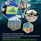 10 pack- Nuduko Biodegradable Natural Bamboo