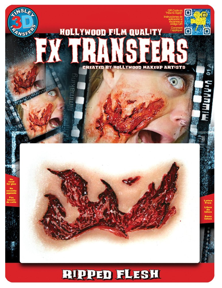 Tinsley Transfers 3D FX Transfers MD Ripped Flesh
