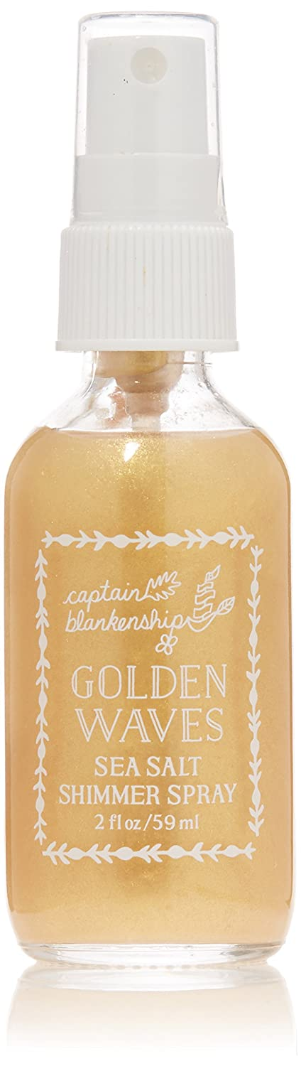 Captain Blankenship - Organic Golden Waves Sea Salt Shimmer Spray (2 oz)