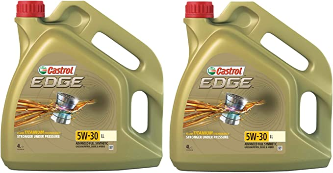 Castrol Edge Titanium 5w 30 Ll Fst Synthetic Engine Oil 8 Litres Auto