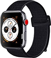 ATUP Compatible with for Apple Watch Band Strap 38mm 40mm 42mm 44mm, Soft Breathable Nylon Wristbands Compatible with...