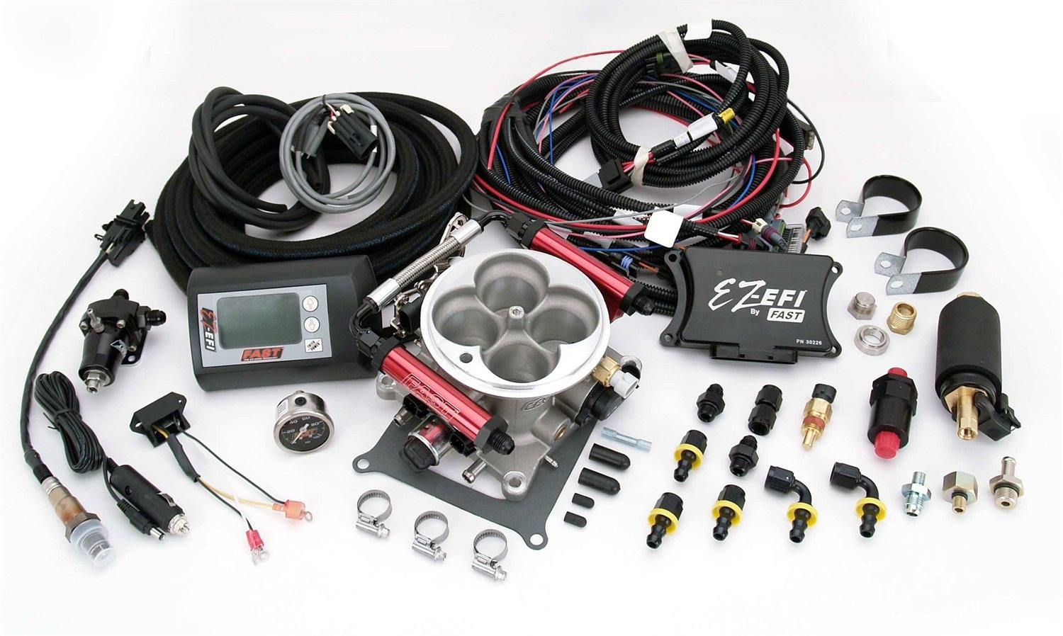 Fast Fuel Injection 30227 Kit Ez Efi Self Tuning Wiring Diagram System Automotive