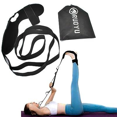 Dancer Plantar Fasciitis Flexibility Belt Ankle Ligament Yoga Stretch Strap Calf