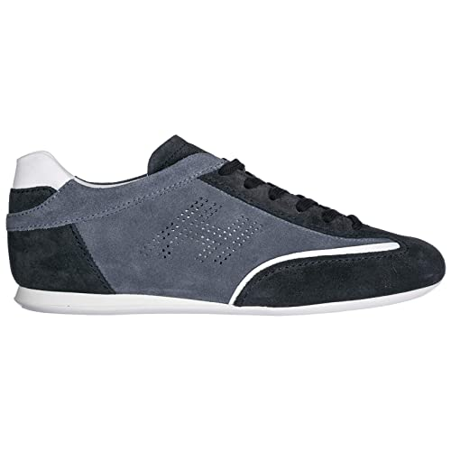 Hogan Sneakers Olympia Uomo Blu  Amazon.it  Scarpe e borse 2dc97a3ef1f