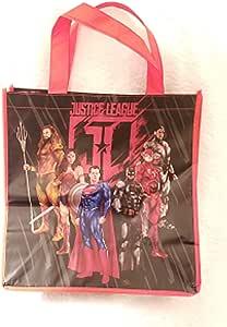 Bolso de la Liga de la Justicia con diseño negro y rojo