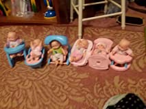 My niece's reaction to her new babies was priceless.