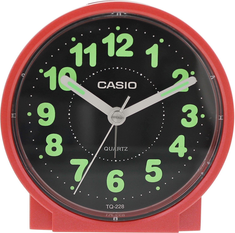 Amazon casio tq228 4df round travel table top alarm clock amazon casio tq228 4df round travel table top alarm clock casio home kitchen amipublicfo Gallery
