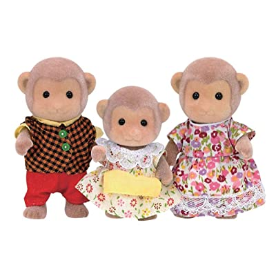 Calico Critters CC1489 Mango Monkey Family Doll Set: Industrial & Scientific