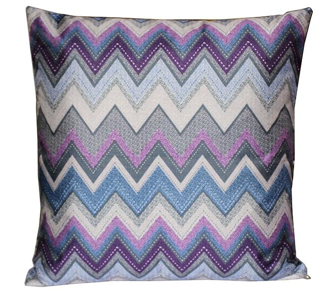Hermosa Zigzag multicolor Azteca Imprimir 16