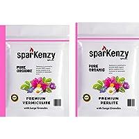 Sparkenzy Perlite 1kg & Vermiculite 1Kg Combo- Large Granules