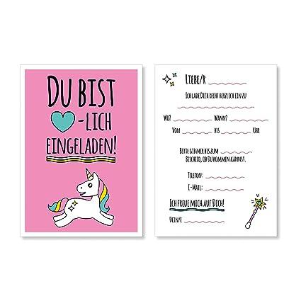 15 Süße Tarjetas de invitación