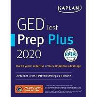 GED Test Prep Plus 2020: 2 Practice Tests + Proven Strategies + Online