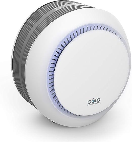 Purificador de aire Pure Enrichment PureZone Halo 2 en 1 True HEPA ...