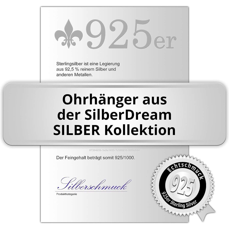 señoras ohrhänger sdo8804j Silberdream aretes pájaro con resorte 925 plata niños