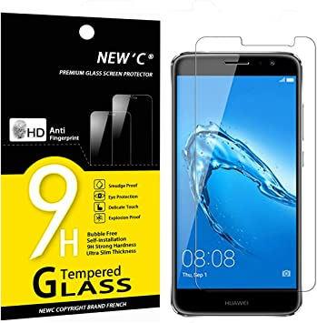 NEWC 3 Unidades, Protector de Pantalla para Huawei Nova Plus ...