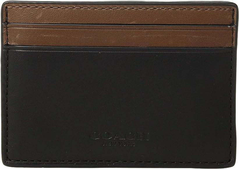 check out 44b20 33151 COACH Mens Sport Calf Leather Money Clip Card Case - Amazon Mỹ | Fado.vn