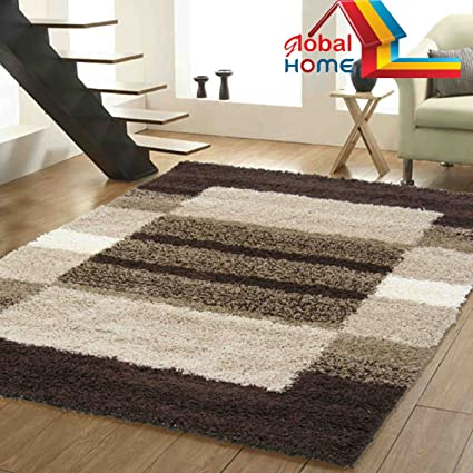 Buy Global Home Brand New Hand Loom Modern 5D Shaggy Rugs And ...