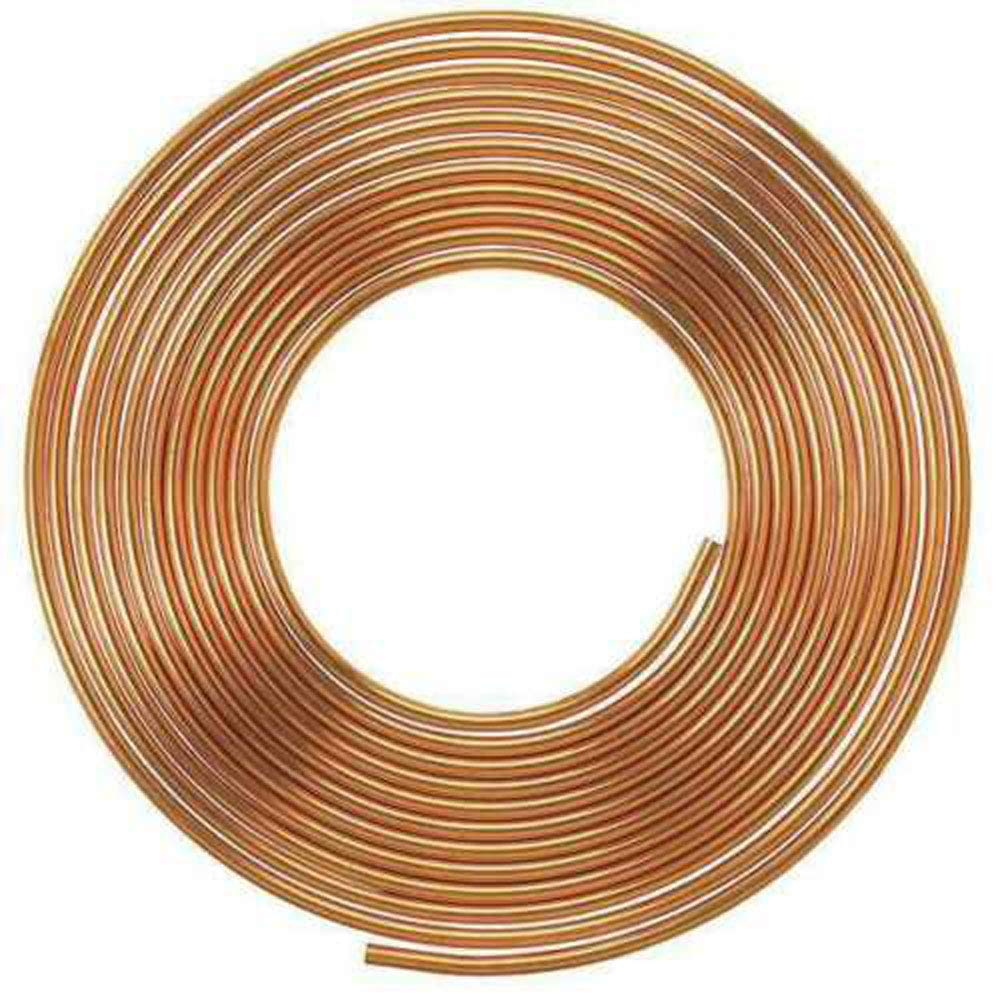 NY Brew Supply Copper Refrigeration Tubing Coil - 3/8'' x 50' by NY Brew Supply
