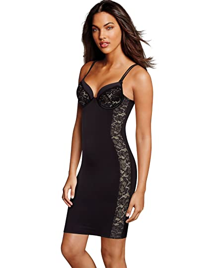 f4068f963bfa5 Maidenform Firm Foundations Lift Cup Slip at Amazon Women s Clothing store