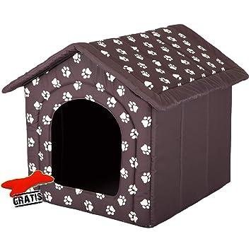 Hobbydog budbwl3 Perros Casa + Suave Juguete Gratis para Perros Gato Cueva Cama para Perros Dormir