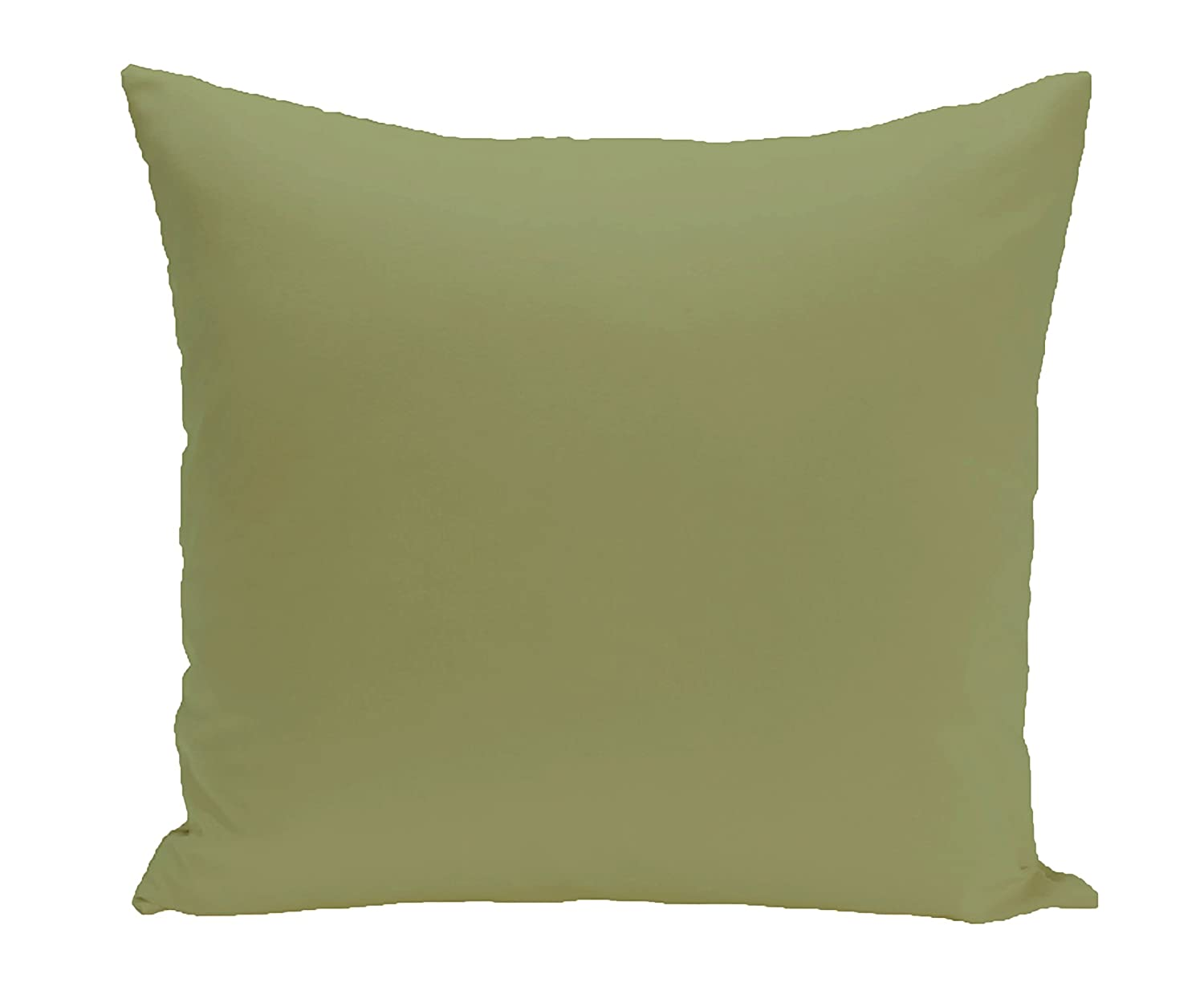 E by design Solid Pillow, Olive Green
