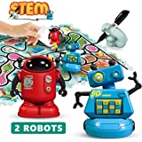 REMOKING STEM Magic Inductive Robot Toys,Creative Track Puzzle Race Game,Learning and Educational Toys for Boys & Girls…