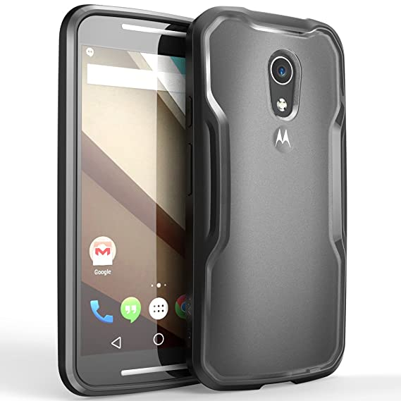 pretty nice 440f6 e8780 SUPCASE [Unicorn Beetle Series for Motorola Moto G (2nd Gen.) Phone 2014  Release, Premium Hybrid Bumper Case- Not Fit Moto G (1st Generation) (Black)