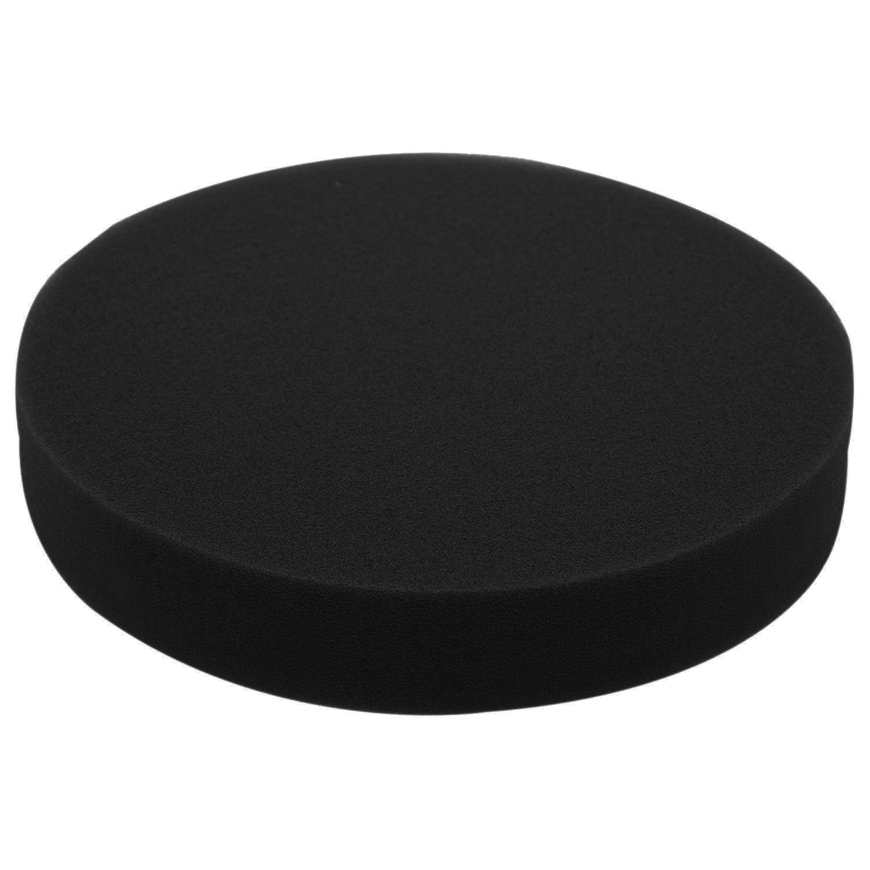 TOOGOO 6 inch 150mm Soft Flat Sponge Buffer Polishing Pad Kit for Auto Car Polisher Color:Black