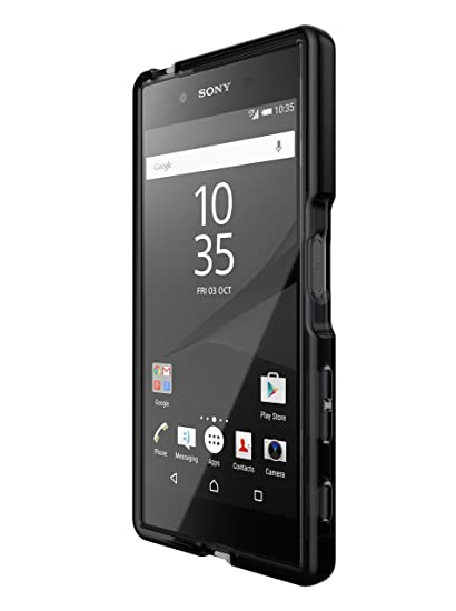 Tech21 Evo Check for Sony Xperia Z5 - Smokey/Black: Amazon in
