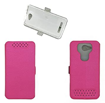 Funda para bq Aquaris U Lite Funda Carcasa Case Pink: Amazon ...