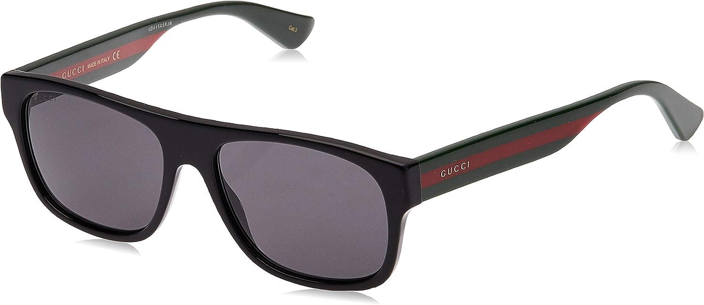 Gucci Gafas de Sol GG0341S BLACK/GREY hombre