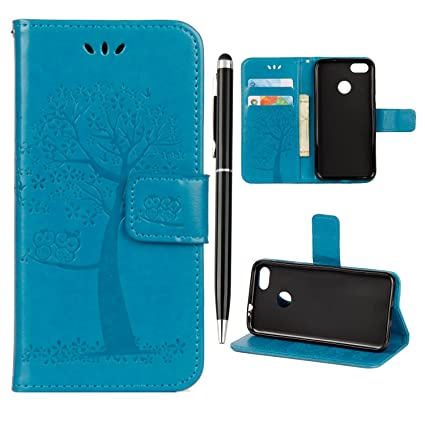 finest selection b79cf 5d29e Huawei Honor 9 Lite Case Honor 9 Lite Phone Case Shockproof iVOYI PU  Leather Flip Wallet Owl Tree Embossed Cover for Huawei Honor 9 Lite with ...