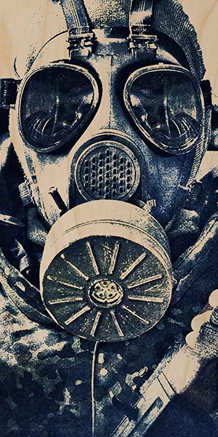 Image result for soldier with gas mask art