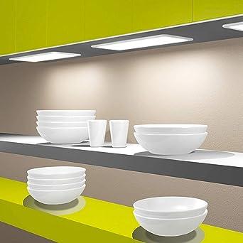 LED Unterbauleuchte Küchenleuchte Panel Küche Unterbaustrahler ...