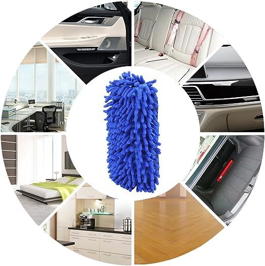 Mikrofaser Chenille Autowaschschwamm Eforcar Doppelseitiger Autowaschschwamm Mit Eingebautem Handriemen Premium Mikrofaser Saug Und Kratzfreier Autowaschschwamm Blau Baumarkt