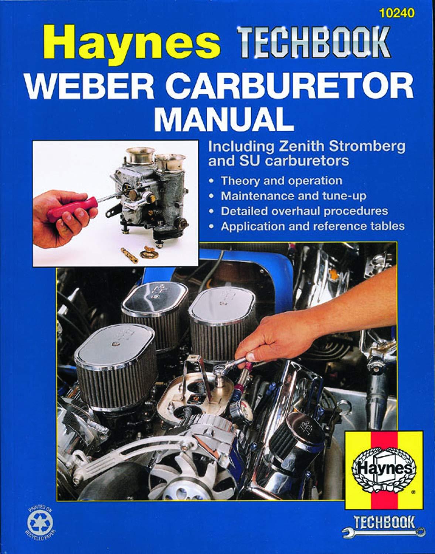 Weber Zenith Stromberg Su Carburetor Rebuild Manual New