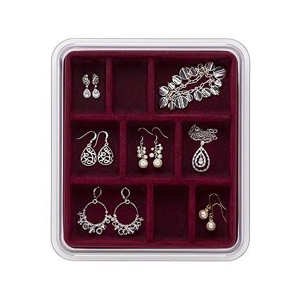 Amazoncom Neatnix Stax Jewelry Organizer Tray 9 Compartments