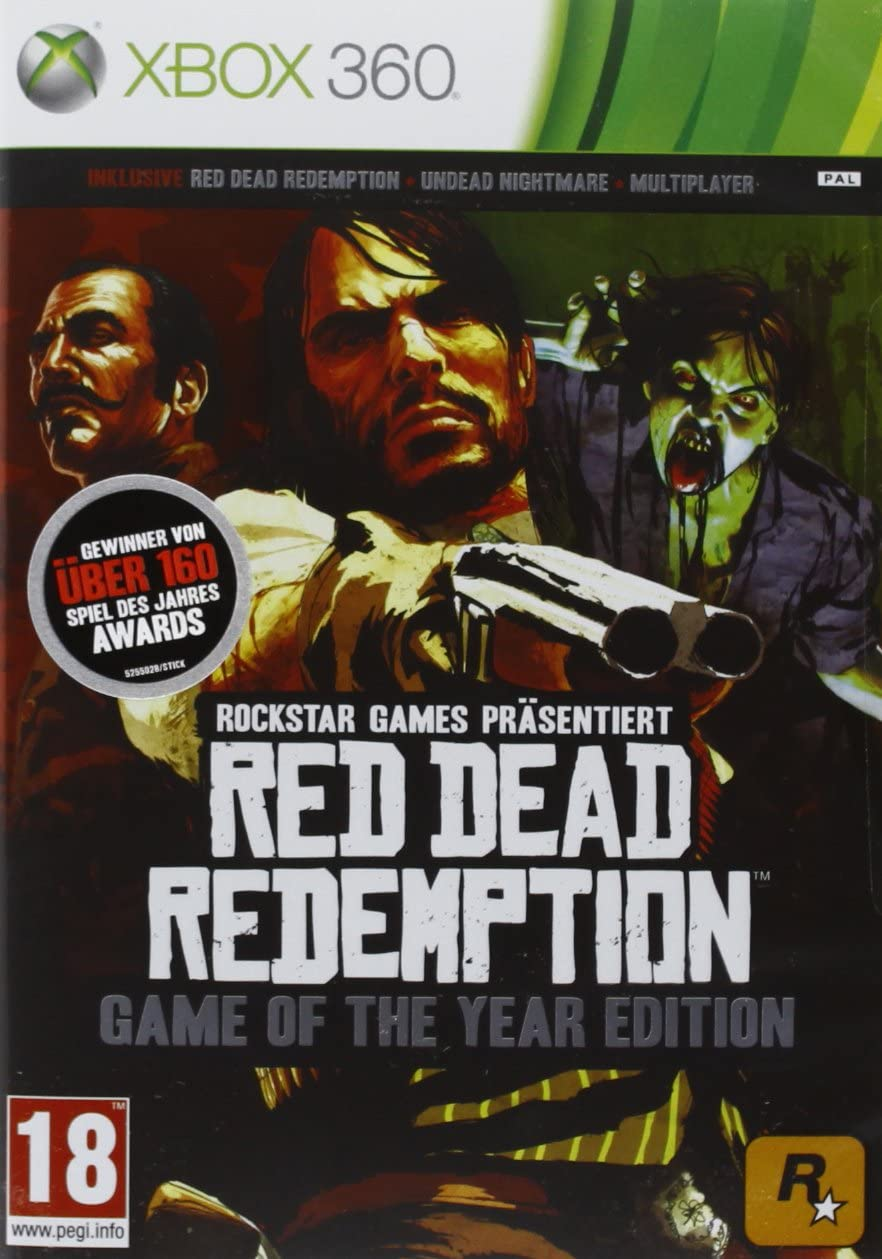Red Dead Redemption - Game Of The Year Edition [PEGI] [Importación ...