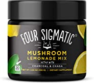 Four Sigmatic Mushroom Lemonade with Activated Charcoal and Chaga - Detox & Digest - 100 gram - 20 servings