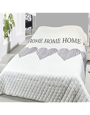 0ba583271bf4cb Steppdecke Tagesdecke Home Bettüberwurf wattiert und gesteppt Maße  240x220cm Sofaüberwurf