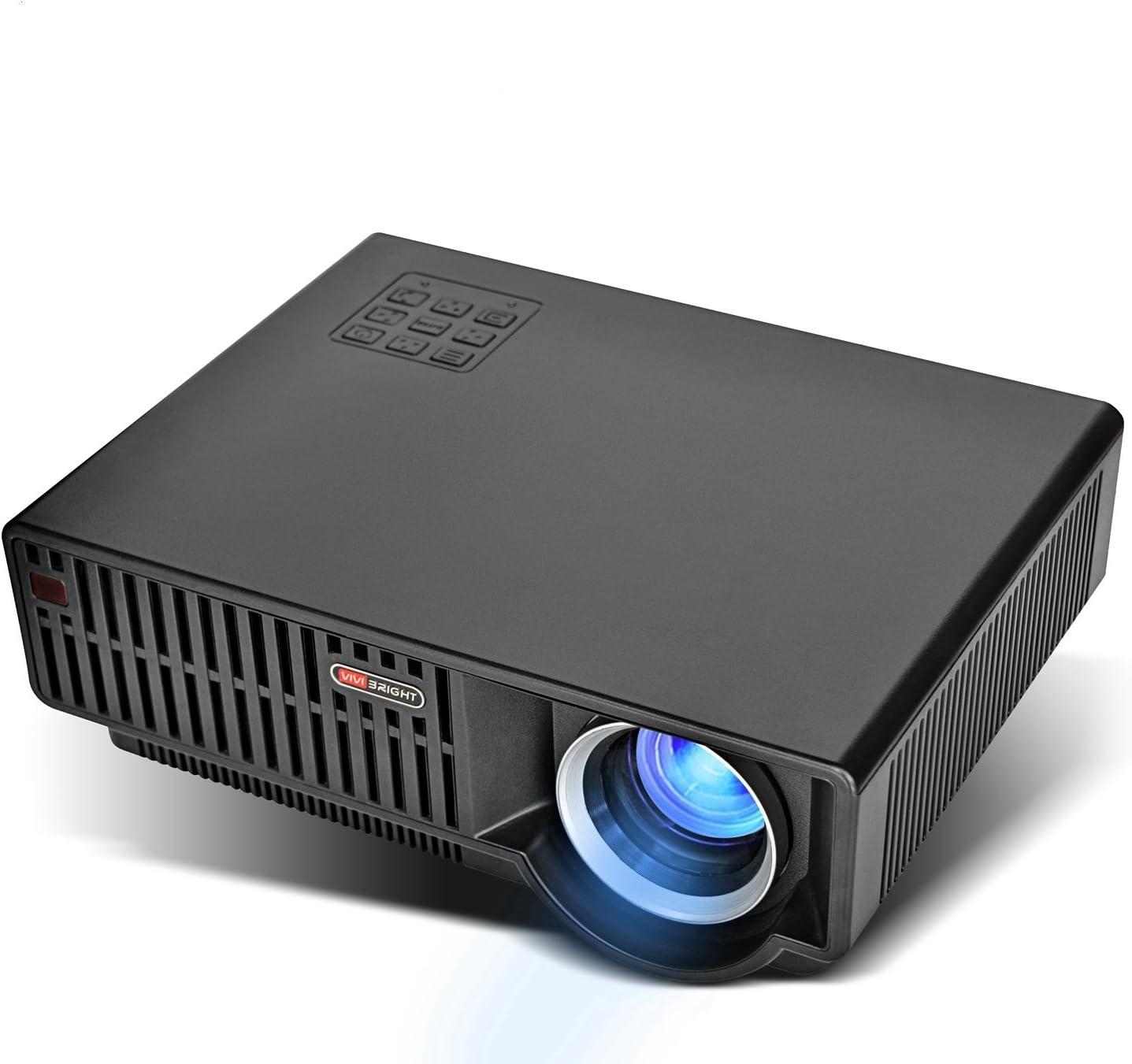 Amazon.com: Vivibright Proyector de vídeo, LCD 1080P full-HD ...