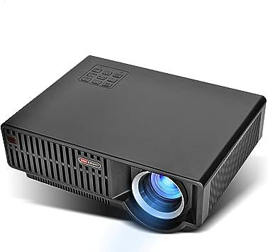 Amazon.com: Vivibright Nivel de Vídeo proyector, LCD 1080P ...