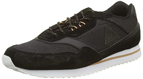 Le COQ Sportif Louise Metallic Black/Rose Gold, Zapatillas para Mujer: Amazon.es: Zapatos y complementos