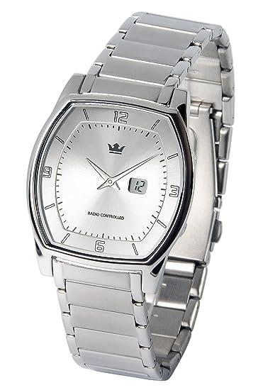 Reloj para hombre Marqués, tecnología de radiofrecuencia alemana, caja y pulsera de acero inoxidable