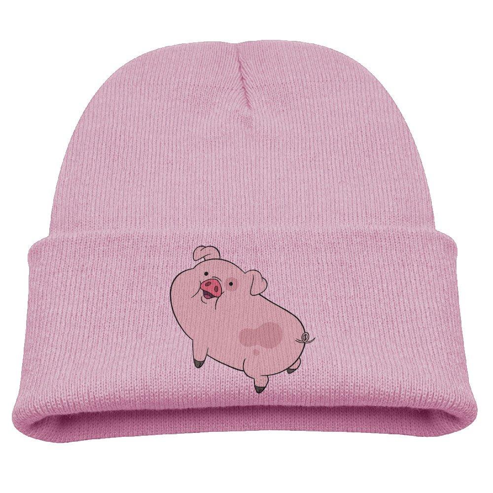 SuperFF Kid's Gravity Falls Waddles Pig Beanie Cap Knit Cap Woolen Hat