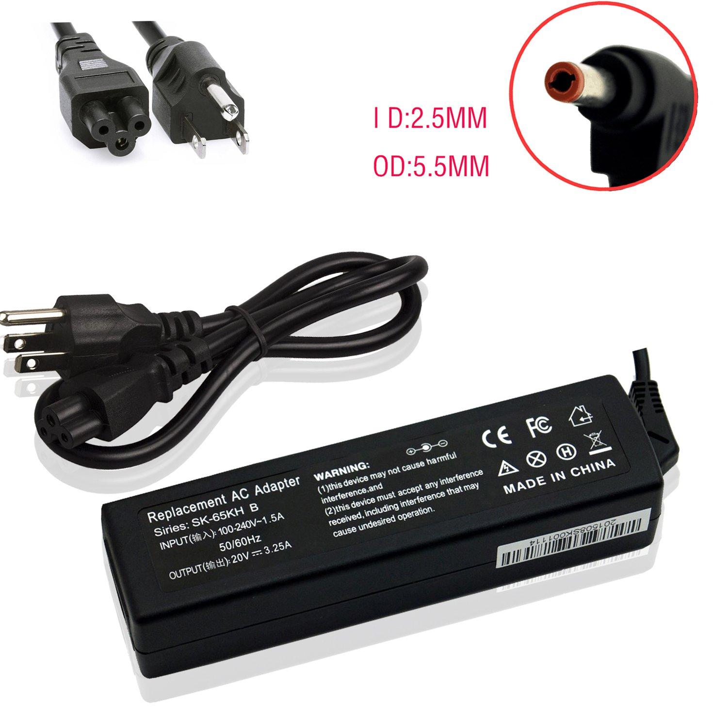 Amazon Novelty 20v 3 25a 65w Ac Adapter Battery Charger Power Supply for For Lenovo G570 B570 B575 G575 B470 G470 G580 G770 1037 Z560 B560 Z565 Z575